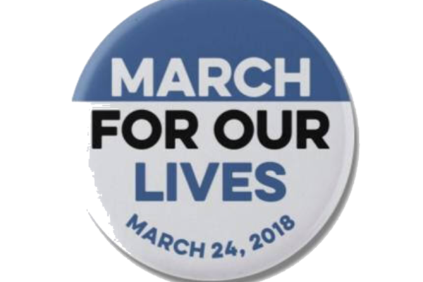 "TBE Youth join ""March For our Lives"" Walk in Long Beach"
