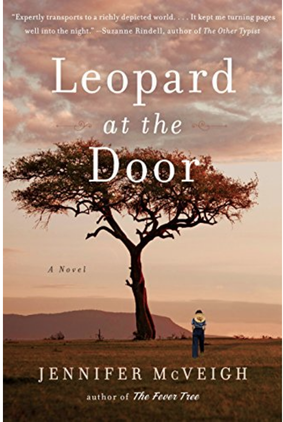 "January 2019,  Jennifer Mcveigh, ""Leopard at the Door"""