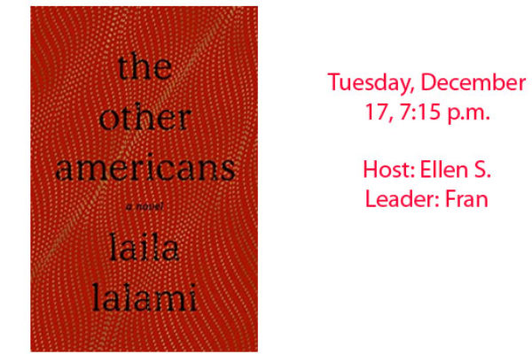 Book Club December 2019 – The Other Americans, Laila Lalami