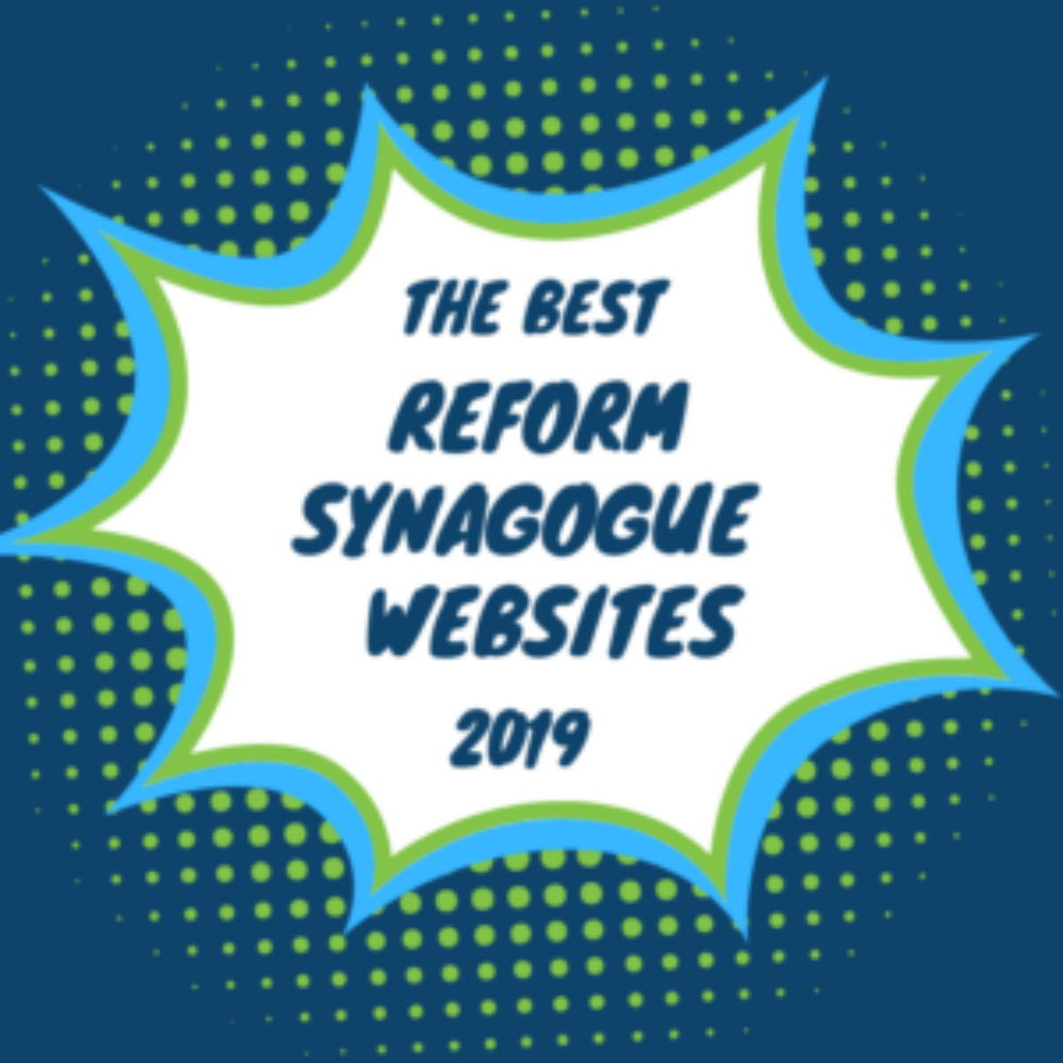 Best Reform Synagogue Websites
