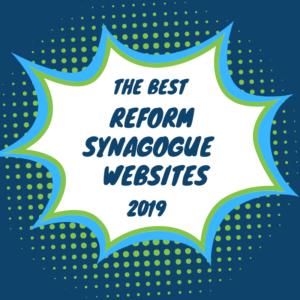 Best Reform Synagogue Websites