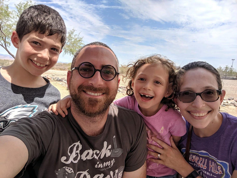 Kail Family - Cassi, Noam, Joshua, Talia