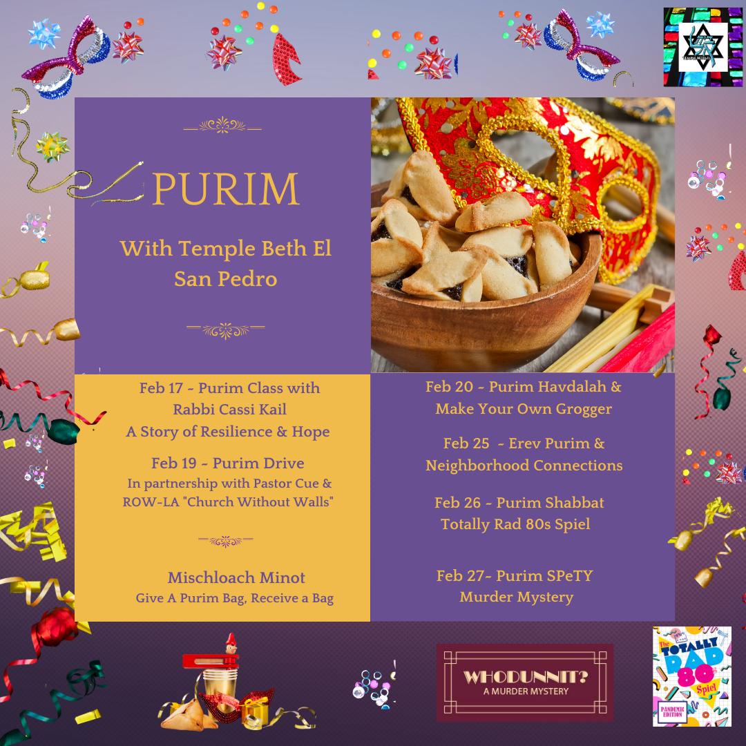Purim Feb 21, 2021