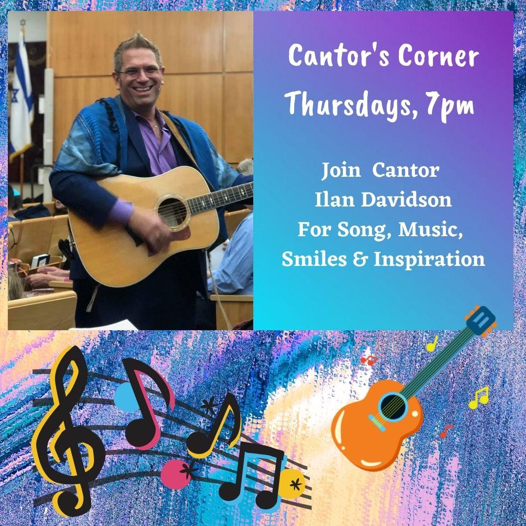 Cantors CornerIG thursdays