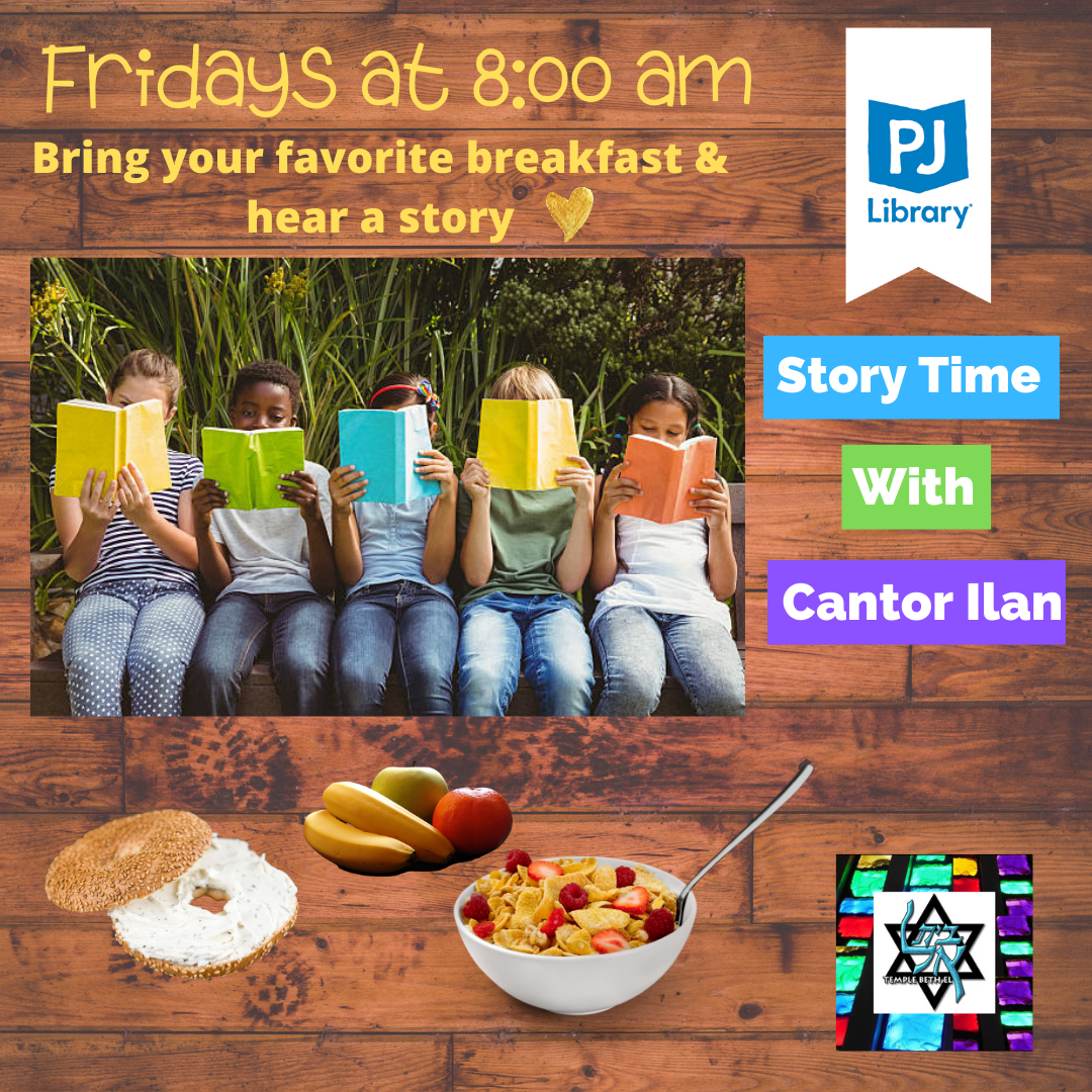 PJ Library Story Time IG