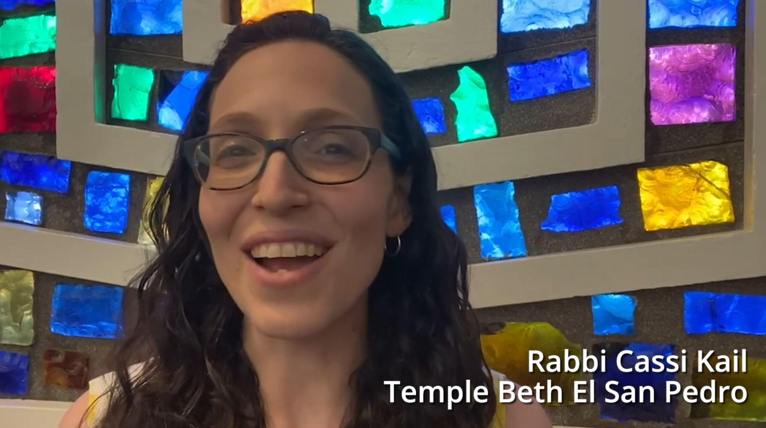 TBE Welcome Video Rabbi Cassi
